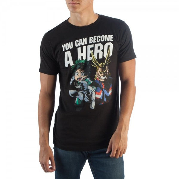 My Hero Academia Men's Become A Hero T-Shirt