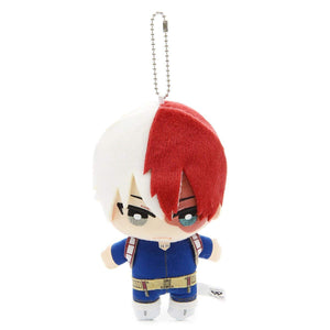 My Hero Academia Plush Keychain - Shoto Todoroki