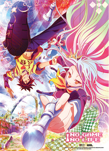 NO GAME NO LIFE - KEY VISUAL WALL SCROLL