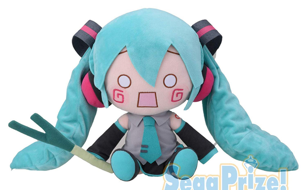 Sega Hatsune Miku Series mega-Jumbo Stuffed Plush HACHUNE Miku Japan Limited