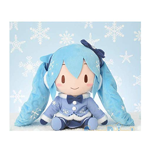 Sega Hatsune Miku Special Fluffy Stuffed Plush Snow Miku 2012 Japan Limited