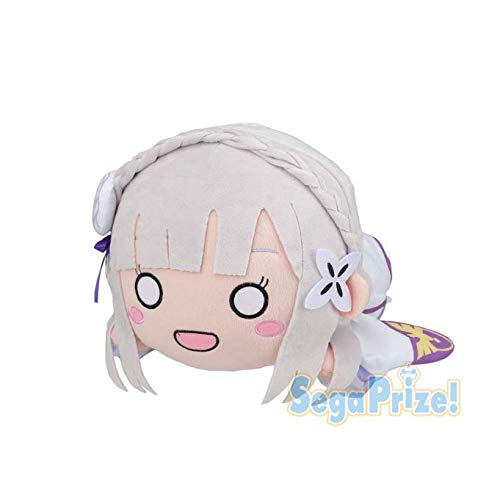 Sega Re: Zero Starting Life in Another MJ Nesoberi Stuffed Plush Emilia Ver.1.5