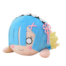 Load image into Gallery viewer, Sega Re Zero Starting Life in Another World: Rem Yellow Sapphire Mega Jumbo Nesoberi Stuffed Plush