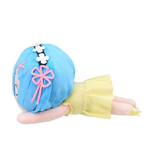 Sega Re Zero Starting Life in Another World: Rem Yellow Sapphire Mega Jumbo Nesoberi Stuffed Plush