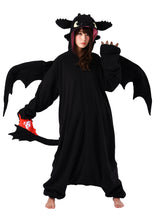 Load image into Gallery viewer, Toothless Kigurumi from How to Train Your Dragon