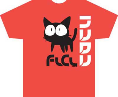 FLCL Takkun red shirt