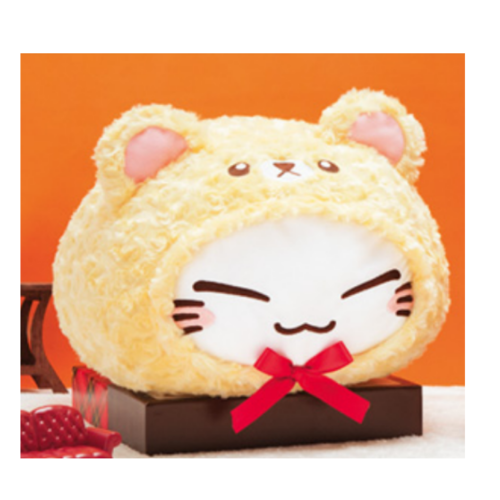 FuRyu Nemuneko Bear Large 33cm Plush - Yellow Version