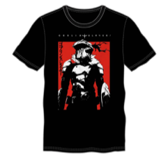 Goblin Slayer Adult Male Crew All Black T-Shirt Tee Shirt