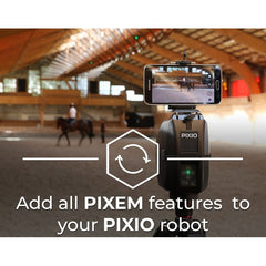 PIXIO: camera + smartphone & tablet compatibility upgrade