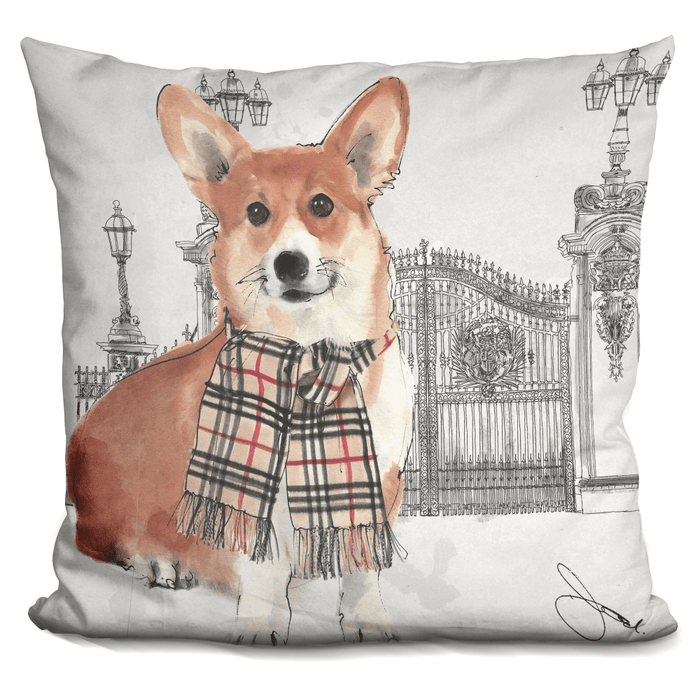 At The Gates Corgi Pillow - BestEver4U