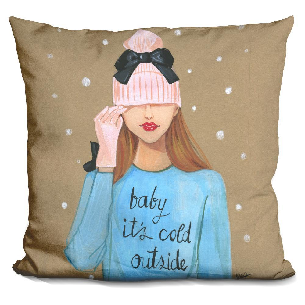 Baby Is Cold Outside Pillow - BestEver4U