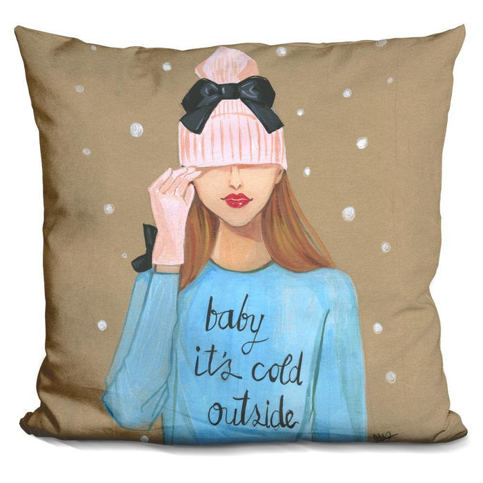 Baby Is Cold Outside Pillow-Product-BestEver4U