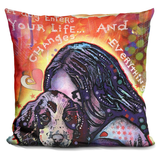 A Dog Changes Everything Pillow-Product-BestEver4U