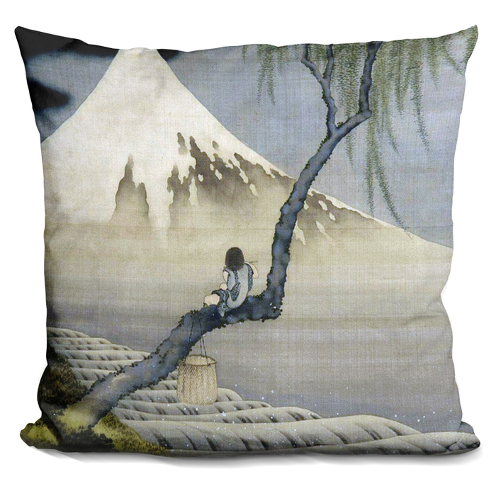 Boy On Mt Fuji Pillow-Product-BestEver4U