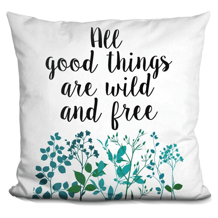 All Good Things Are Wild Pillow-Product-BestEver4U