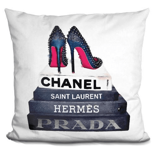 Book Stack Stud Shoes Pillow-Product-BestEver4U
