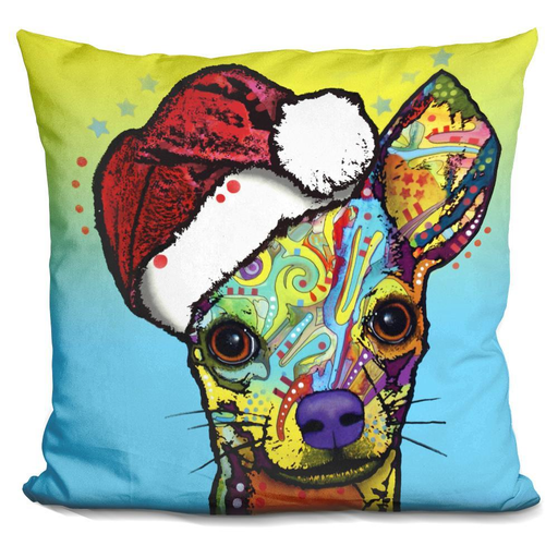 Chihuahua Christmas Pillow-Product-BestEver4U