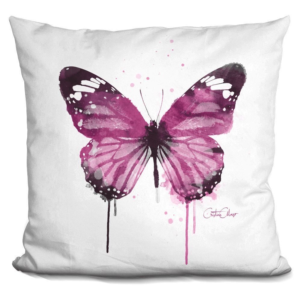 Amethyst Butterfly Pillow-Product-BestEver4U