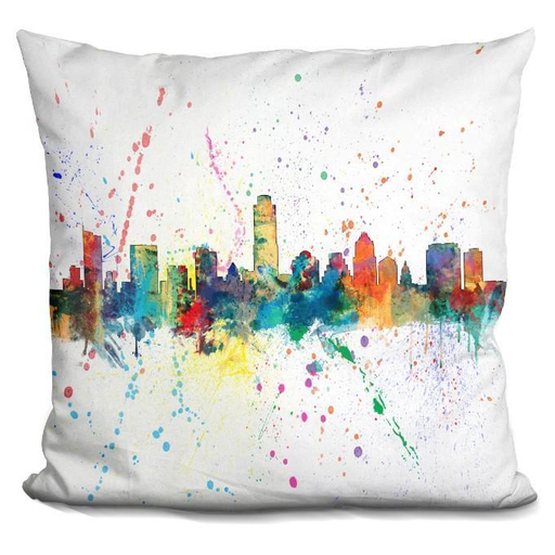 Austin Texas 1970 Pillow-Product-BestEver4U