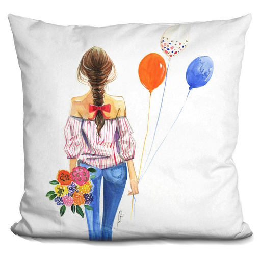 Balloon Girl Pillow-Product-BestEver4U
