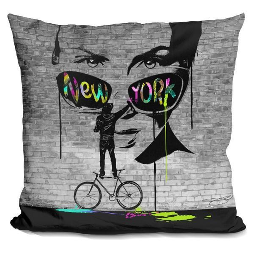 Nyc Street Art Pillow-Product-BestEver4U