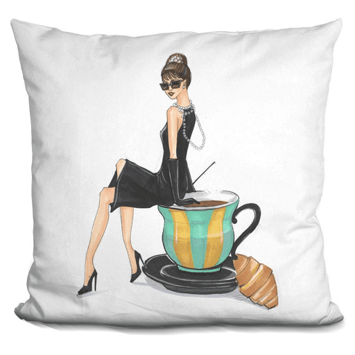 Audrey Hepburn And Tiffany Pillow-Product-BestEver4U