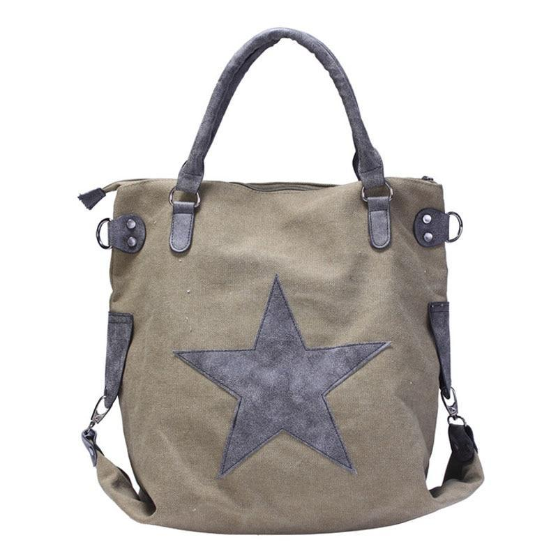 Travel Shoulder Bag vintage canvas b9cf8a13fbee9