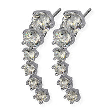 Load image into Gallery viewer, TES37 EARRING WITH JEWEL DESIGN