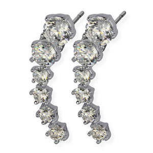 TES37 EARRING WITH JEWEL DESIGN