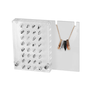 DAA129 ACRYLIC DISPLAY WITH 32 PENDANT