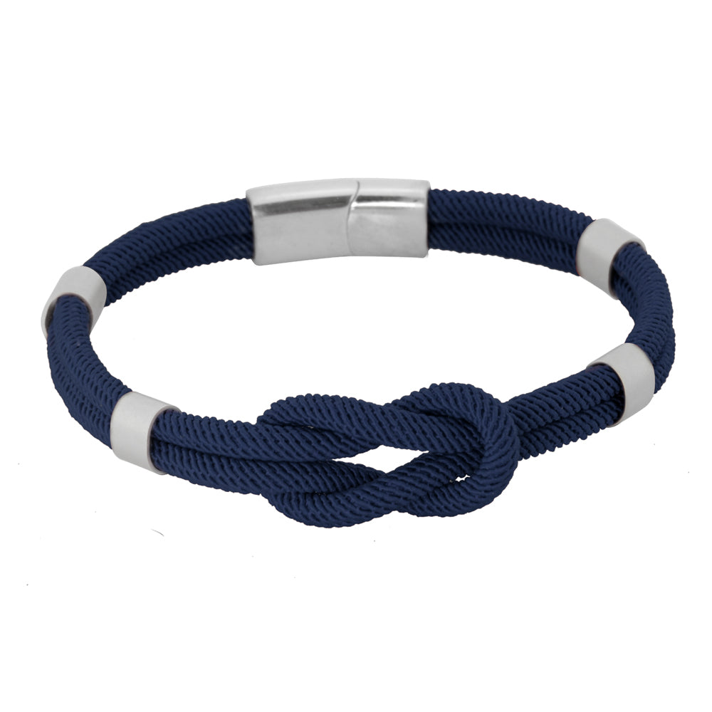 BSS610 STAINLESS STEEL WITH NYLON BRACELET