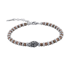Load image into Gallery viewer, BSS625 STAINLESS STEEL HEMATITE BRACELET