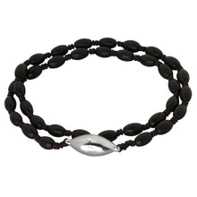 Load image into Gallery viewer, BSS672 STAINLESS STEEL GLASS STONE BRACELET