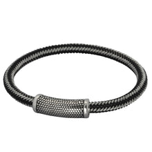 Load image into Gallery viewer, BSS673 STAINLESS STEEL CABLE BRACELET