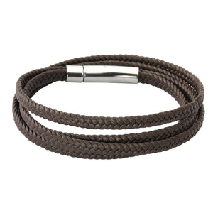 BSS753.P STAINLESS STEEL WITH SUPER FIBER BRACELET