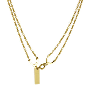 NSS458 STAINLESS STEEL NECKLACE