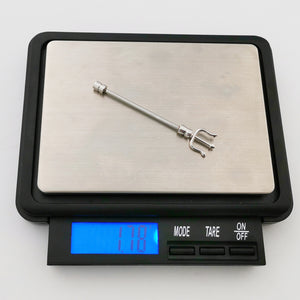 BRDT17 INDUSTRIAL BARBELL WITH TRIDENT DESIGN