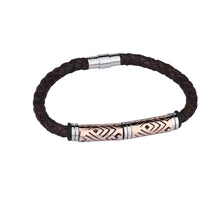 Load image into Gallery viewer, BSS303 LEATHER  BRACELET