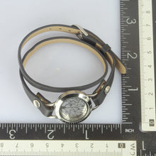 Load image into Gallery viewer, BSS496 STAINLESS STEEL LEATHER BRACELET