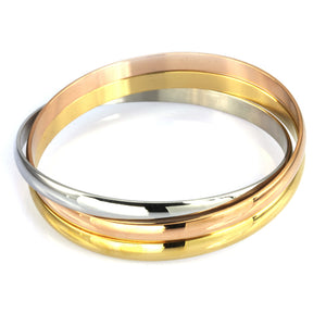 BSSG146 STAINLESS STEEL BANGLE