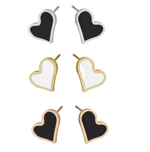 ESS302 STAINLESS STEEL EARRING