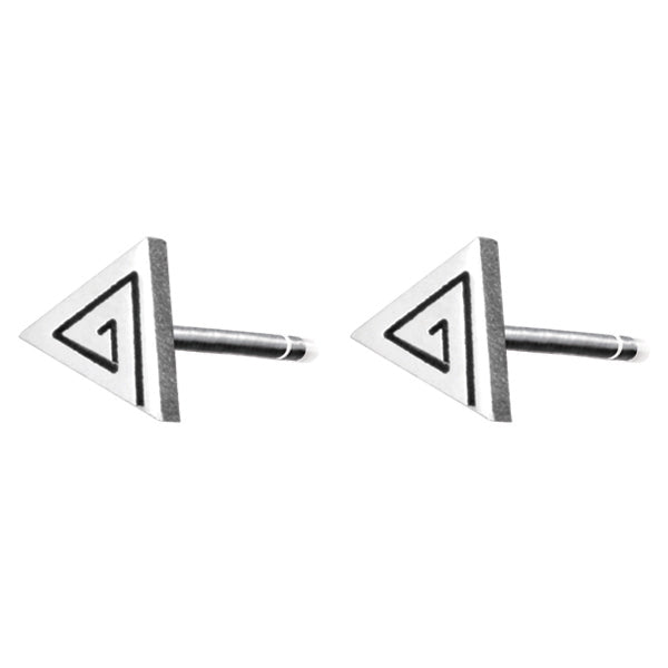 ESS48 STAINLESS STEEL EAR STUDS