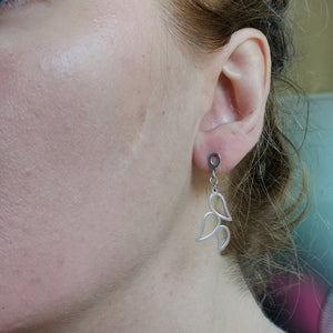 ESS666 STAINLESS STEEL EARRING