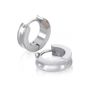 EXER103A STAINLESS STEEL EARRING EXCITEMENT INORI