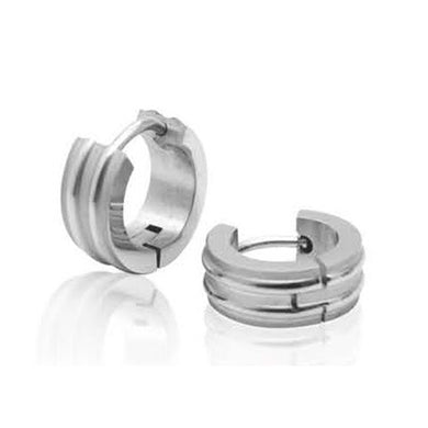 EXER41 STAINLESS STEEL EARRING EXCITEMENT INORI