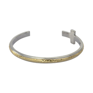 GBSG113 STAINLESS STEEL BANGLE