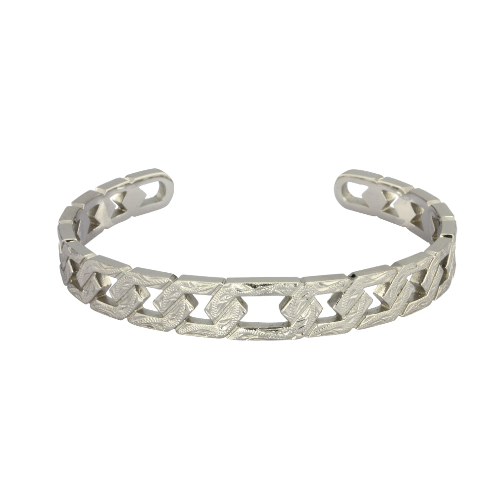 GBSG148 STAINLESS STEEL BANGLE