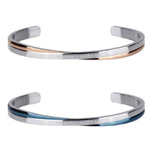 Load image into Gallery viewer, GBSG28 STAINLESS STEEL BANGLE Tomorrow is another day