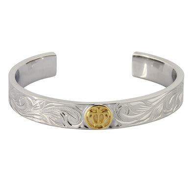 GBSG74 STAINLESS STEEL BANGLE