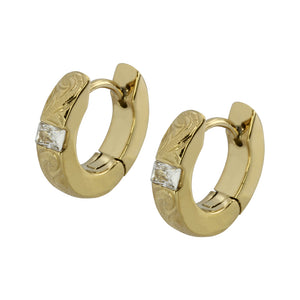 GESS205 STAINLESS STEEL EARRING